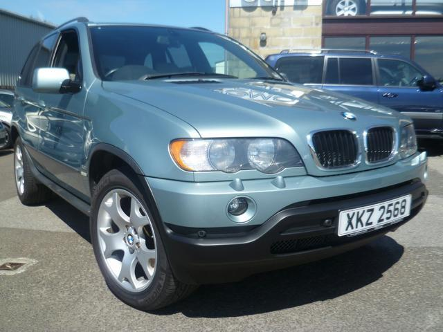 Used Bmw X5 2003 Green 4x4 Diesel Automatic for Sale