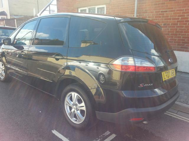used ford s max 2007 diesel 1 8 tdci zetec 5dr estate black edition for sale in portsmouth uk. Black Bedroom Furniture Sets. Home Design Ideas