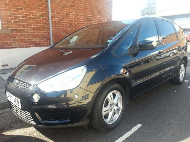 Used Ford S max 2007 Black Estate Diesel Manual for Sale