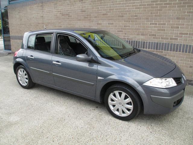 Used Renault Megane 2007 Grey Hatchback Petrol Manual for Sale