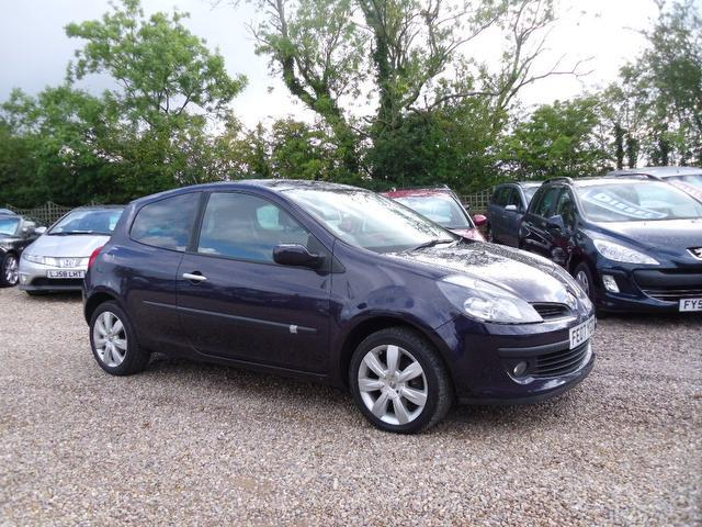 Used Renault Clio 2007 Purple Hatchback Petrol Manual for Sale