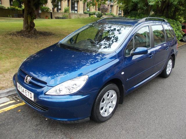 Used Peugeot 307 1.6 Hdi 110 S Estate Blue 2004 Diesel for Sale in UK