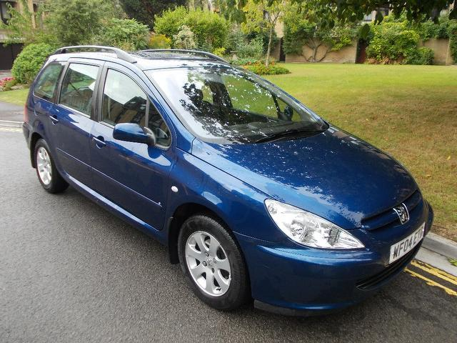 Used Peugeot 307 2004 Blue Estate Diesel Manual for Sale