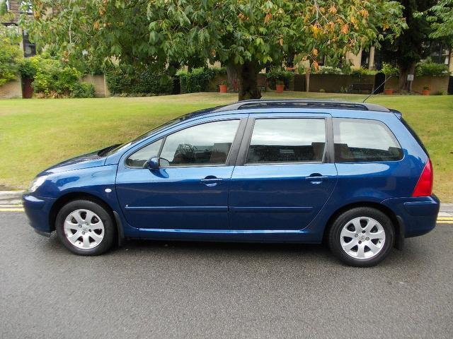 used peugeot 307 2004 diesel 1 6 hdi 110 s estate blue edition for sale in keynsham uk autopazar. Black Bedroom Furniture Sets. Home Design Ideas