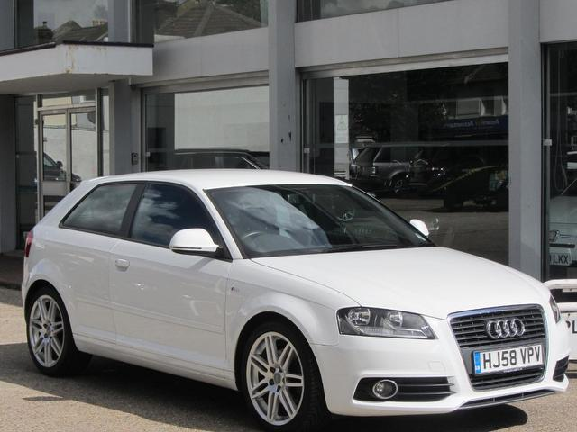 used audi a3 2008 manual petrol 2 0 tfsi s line white for sale uk autopazar. Black Bedroom Furniture Sets. Home Design Ideas