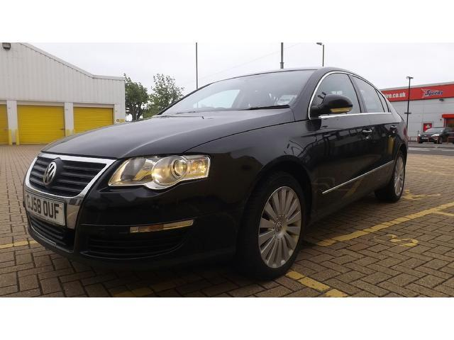 used volkswagen passat 2008 diesel 1 9 highline tdi 4dr saloon black edition for sale in. Black Bedroom Furniture Sets. Home Design Ideas