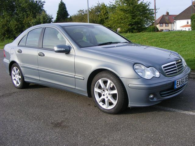 Used grey mercedes benz 2006 diesel class c200 cdi classic for Mercedes benz c class 2006 for sale