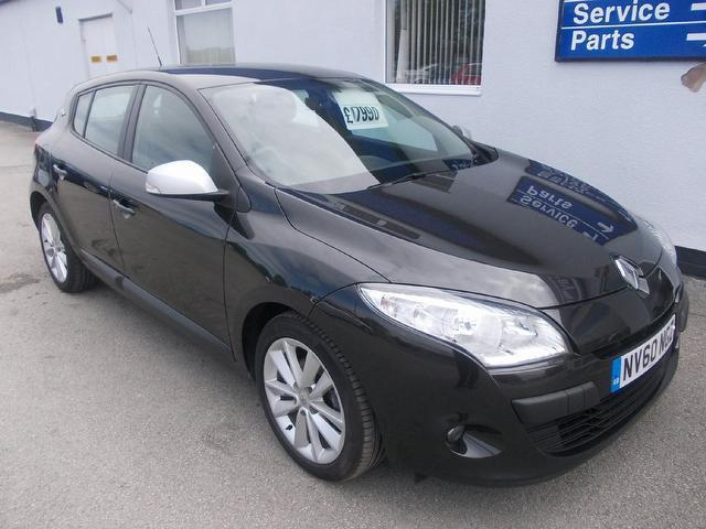 Used Renault Megane 2010 Black Hatchback Diesel Manual for Sale