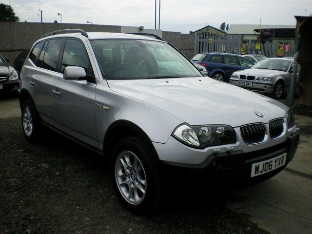 used bmw x3 2006 diesel se 5dr auto 4x4 silver automatic for sale in wembley uk autopazar. Black Bedroom Furniture Sets. Home Design Ideas