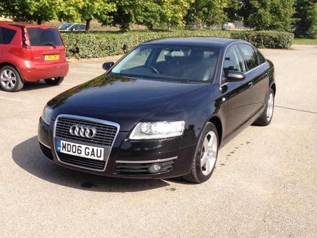 Used Audi A6 2006 Black Saloon Diesel Automatic for Sale