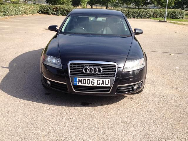 Used Audi A6 2.0 Tdi Dpf Se Saloon Black 2006 Diesel for Sale in UK