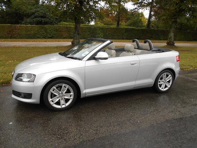used silver audi a3 2009 petrol 1 8 t fsi sport convertible excellent condition for sale autopazar. Black Bedroom Furniture Sets. Home Design Ideas
