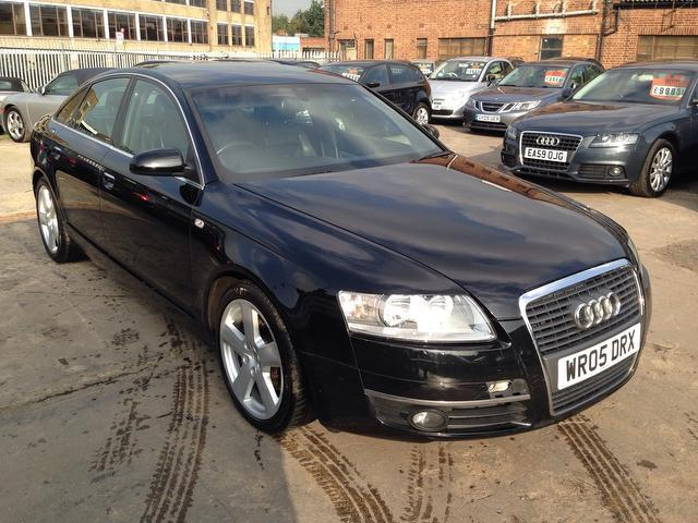 Used Audi A6 2005 Black Saloon Diesel Manual for Sale