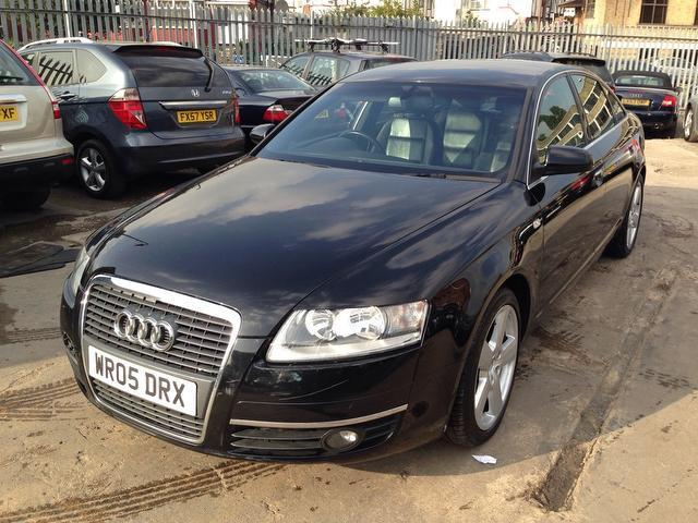 Used Audi A6 2.7 Tdi Se 4 Door Saloon Black 2005 Diesel for Sale in UK