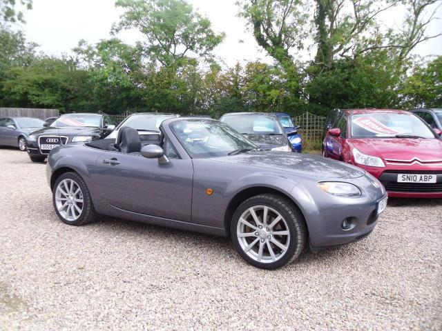 used mazda mx 2007 model sport 2dr with petrol convertible grey for sale in nuneaton uk. Black Bedroom Furniture Sets. Home Design Ideas
