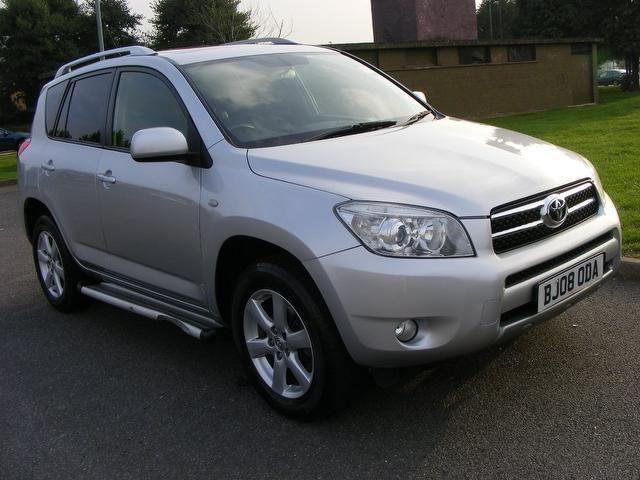 used silver toyota rav4 2008 petrol 2 0 vvt i xt r 5dr 4x4 in great condition for sale autopazar. Black Bedroom Furniture Sets. Home Design Ideas