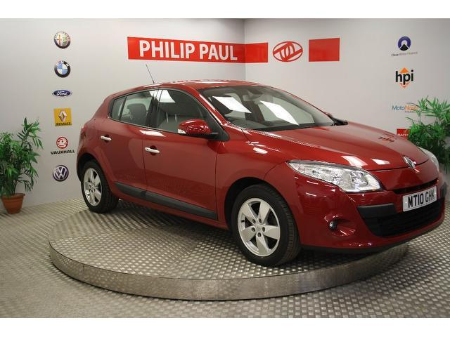 Used Renault Megane 2010 Red Hatchback Diesel Manual for Sale