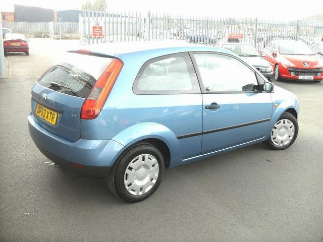 used ford fiesta 2003 petrol lx 3dr 1 hatchback blue. Black Bedroom Furniture Sets. Home Design Ideas