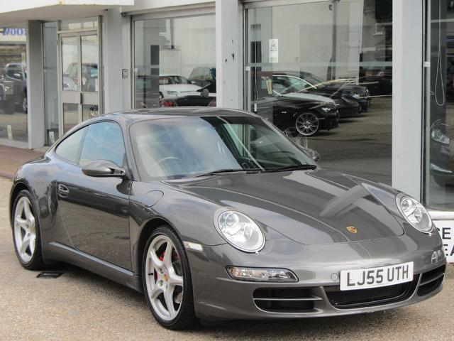 used 2006 porsche 911 coupe grey edition s 2dr 3 8 carrera. Black Bedroom Furniture Sets. Home Design Ideas