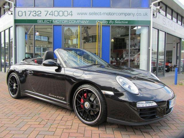 used porsche 911 2012 petrol carrera 4 cabriolet gts convertible black automatic for sale in. Black Bedroom Furniture Sets. Home Design Ideas
