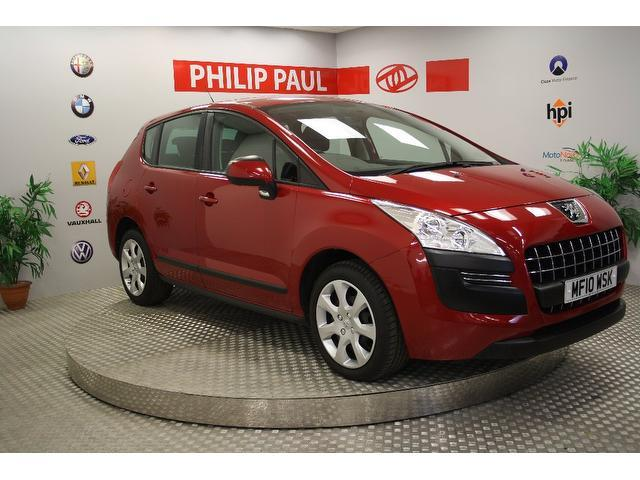 used peugeot 3008 2010 red colour diesel 1 6 hdi active 5. Black Bedroom Furniture Sets. Home Design Ideas