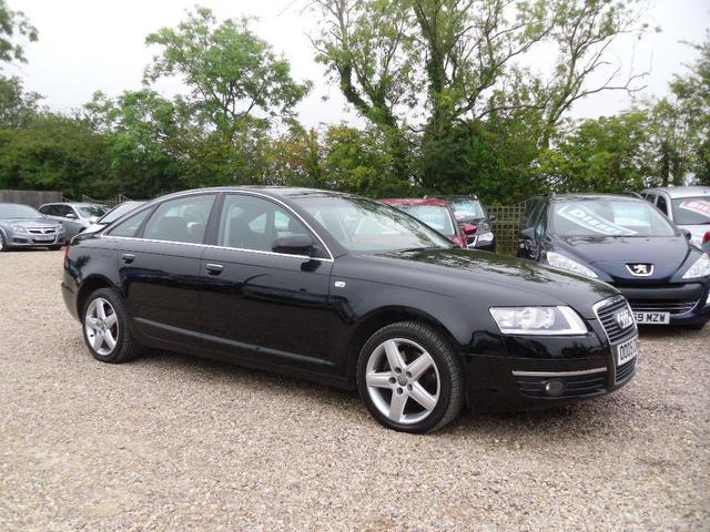 Used Audi A6 2007 Black Saloon Diesel Manual for Sale