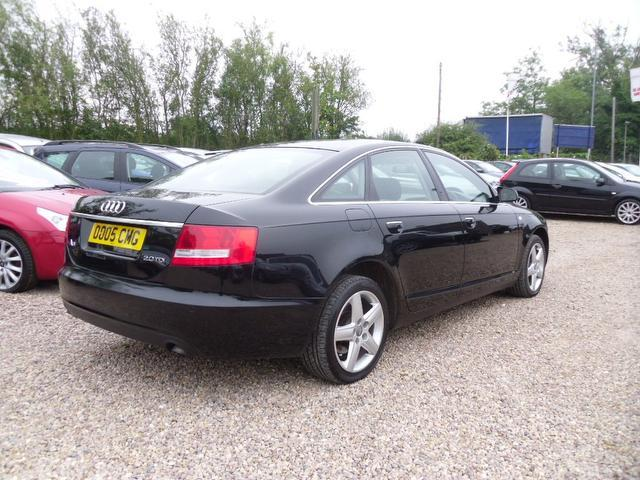 Used Audi A6 2.0 Tdi Tdv Se Saloon Black 2007 Diesel for Sale in UK