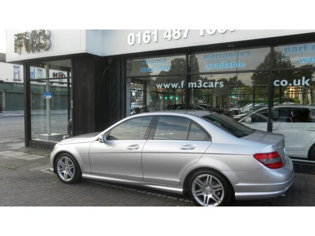 used mercedes benz 2008 model class c200 cdi sport diesel saloon silver for sale in stockport uk. Black Bedroom Furniture Sets. Home Design Ideas