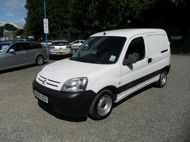 d295d297952cb1 Used White Citroen Berlingo 2006 Diesel 1900 Cc 1.9d 600kg Panel Van ...