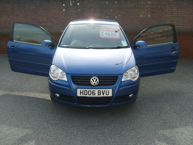 Used Volkswagen Polo 1.2 S 55 3 Door Hatchback Blue 2006 Petrol for Sale in UK
