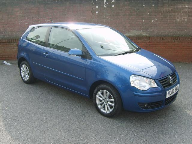 Used Volkswagen Polo 2006 Blue Hatchback Petrol Manual for Sale