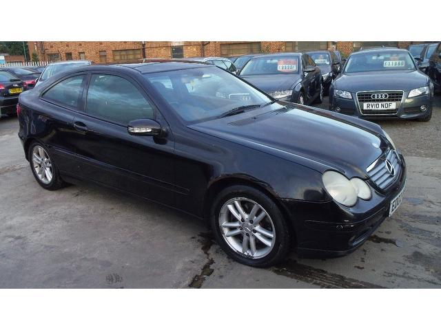 Used Mercedes Benz 2002 Diesel Class C220 Cdi 3dr Coupe Black