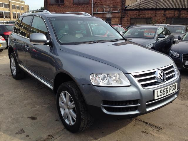 used volkswagen touareg 2006 for sale uk autopazar. Black Bedroom Furniture Sets. Home Design Ideas