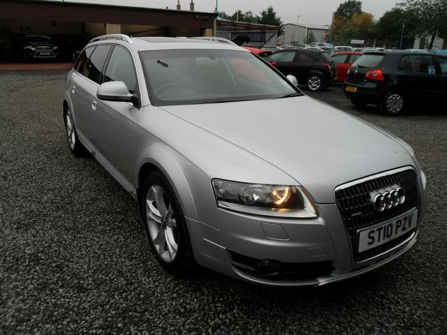 Used Audi Allroad 3.0 Tdi Quattro 5 Door Estate Silver 2010 Diesel for Sale in UK