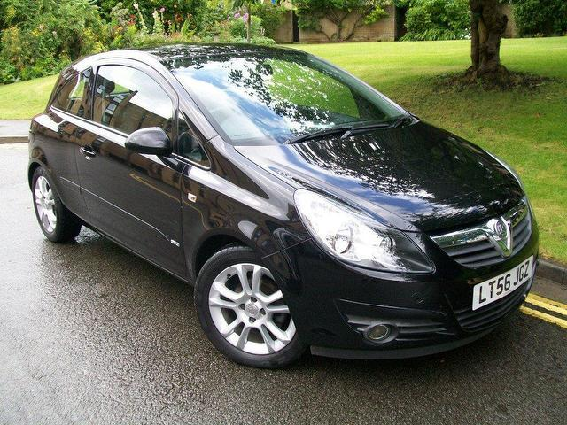 used vauxhall corsa 2006 petrol 16v sxi 3dr hatchback black manual for sale in keynsham uk. Black Bedroom Furniture Sets. Home Design Ideas