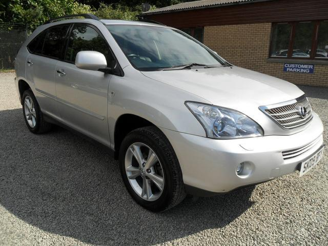 used lexus rx 2009 automatic hybrid 400h 3 3 executive limited silver for sale uk autopazar. Black Bedroom Furniture Sets. Home Design Ideas