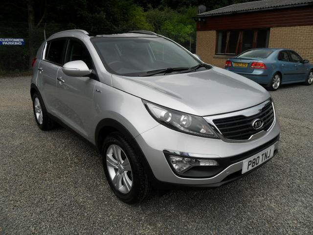 used kia sportage 2011 petrol 2 0 kx 2 5dr 4x4 silver with full service history for sale autopazar. Black Bedroom Furniture Sets. Home Design Ideas