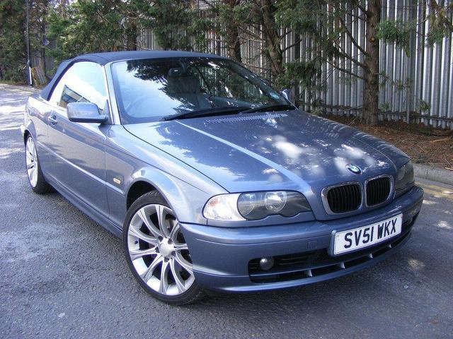 Used Bmw 3 Series 2001 Petrol 325 Ci 2dr Convertible Blue Manual For