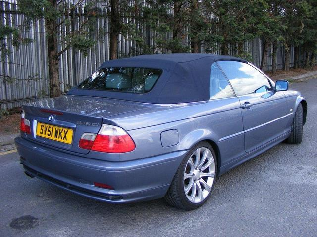 2001 Bmw 3 Series Convertible For Sale ~ Used Bmw 3 Series 2001 Petrol
