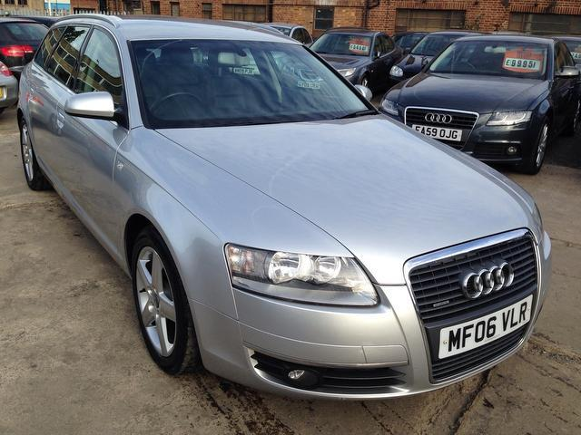 Used Audi A6 2006 Silver Estate Diesel Automatic for Sale