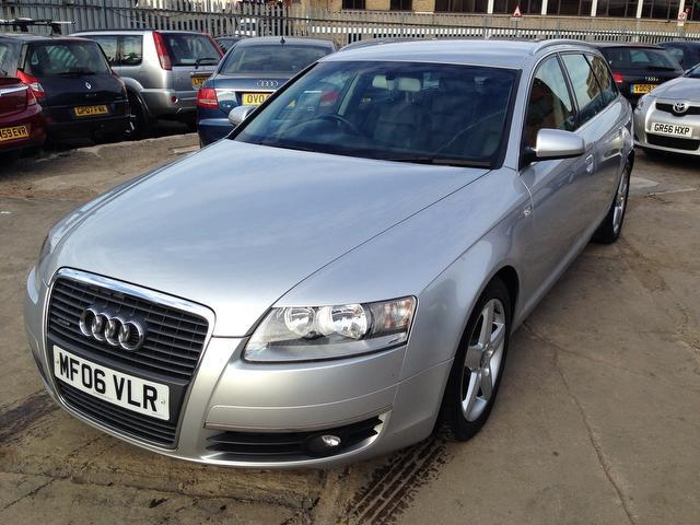 Used Audi A6 2.7 Tdi Quattro Se Estate Silver 2006 Diesel for Sale in UK
