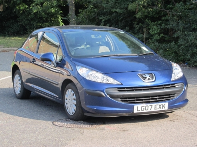 Used Peugeot 207 2007 Blue  Petrol Manual for Sale