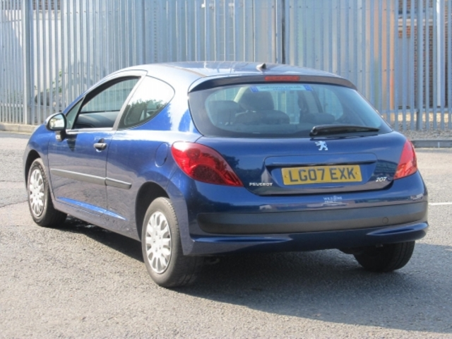 Used Peugeot 207  Blue 2007 Petrol for Sale in UK