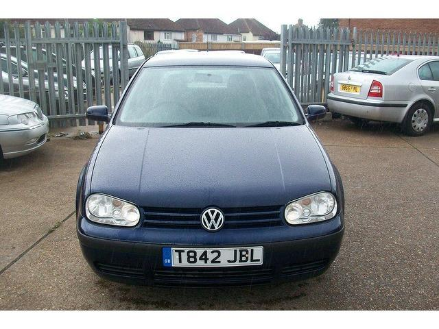 Used Volkswagen Golf 1.6 Se 5 Door  Hatchback Blue 2003 Petrol for Sale in UK