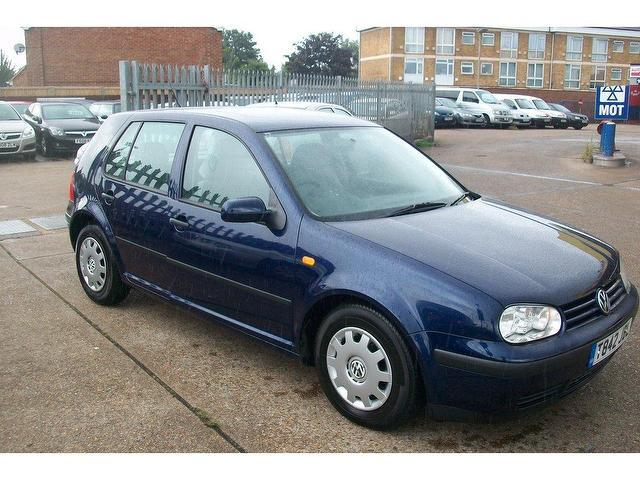 Used Volkswagen Golf 2003 Blue Hatchback Petrol Manual for Sale