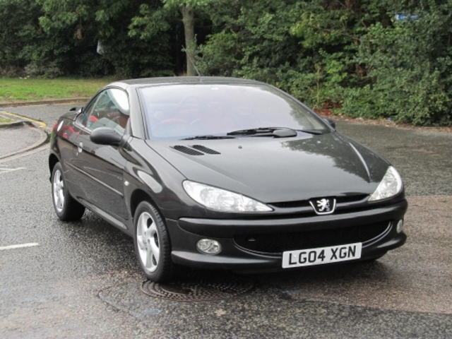 Used Peugeot 206 2004 Black  Petrol Manual for Sale