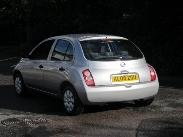 used nissan micra car 2005 silver petrol for sale in epsom uk autopazar. Black Bedroom Furniture Sets. Home Design Ideas