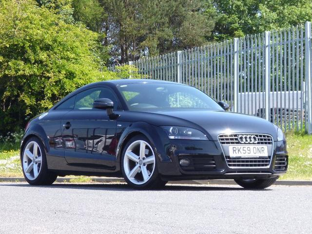used 2009 audi tt coupe black edition fsi s line petrol for sale in turrif uk autopazar. Black Bedroom Furniture Sets. Home Design Ideas
