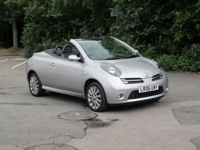 used nissan micra 2006 petrol c c silver manual for sale in epsom uk autopazar. Black Bedroom Furniture Sets. Home Design Ideas
