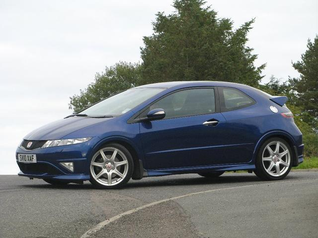 used 2010 honda civic hatchback blue edition 2 0 i vtec type r petrol for sale in turrif uk. Black Bedroom Furniture Sets. Home Design Ideas